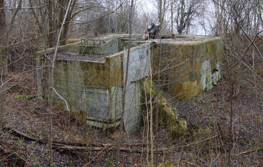 34. BAS koło Rozewia - bunkier