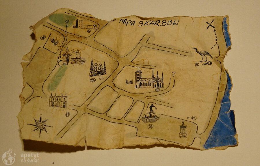 Mapa skarbów, Tajemniczy Gdańsk, gra terenowa