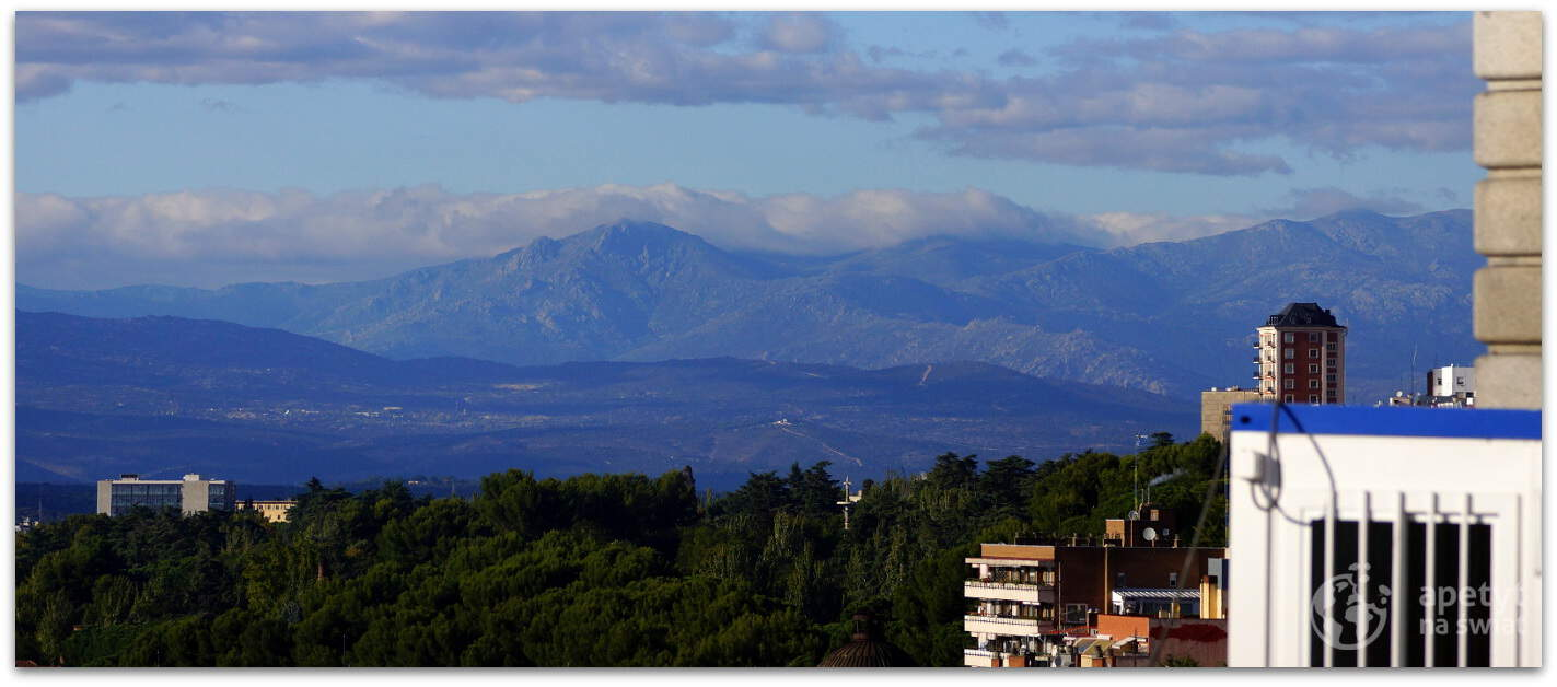 Łańcuch górski Sierra de Guadarrama