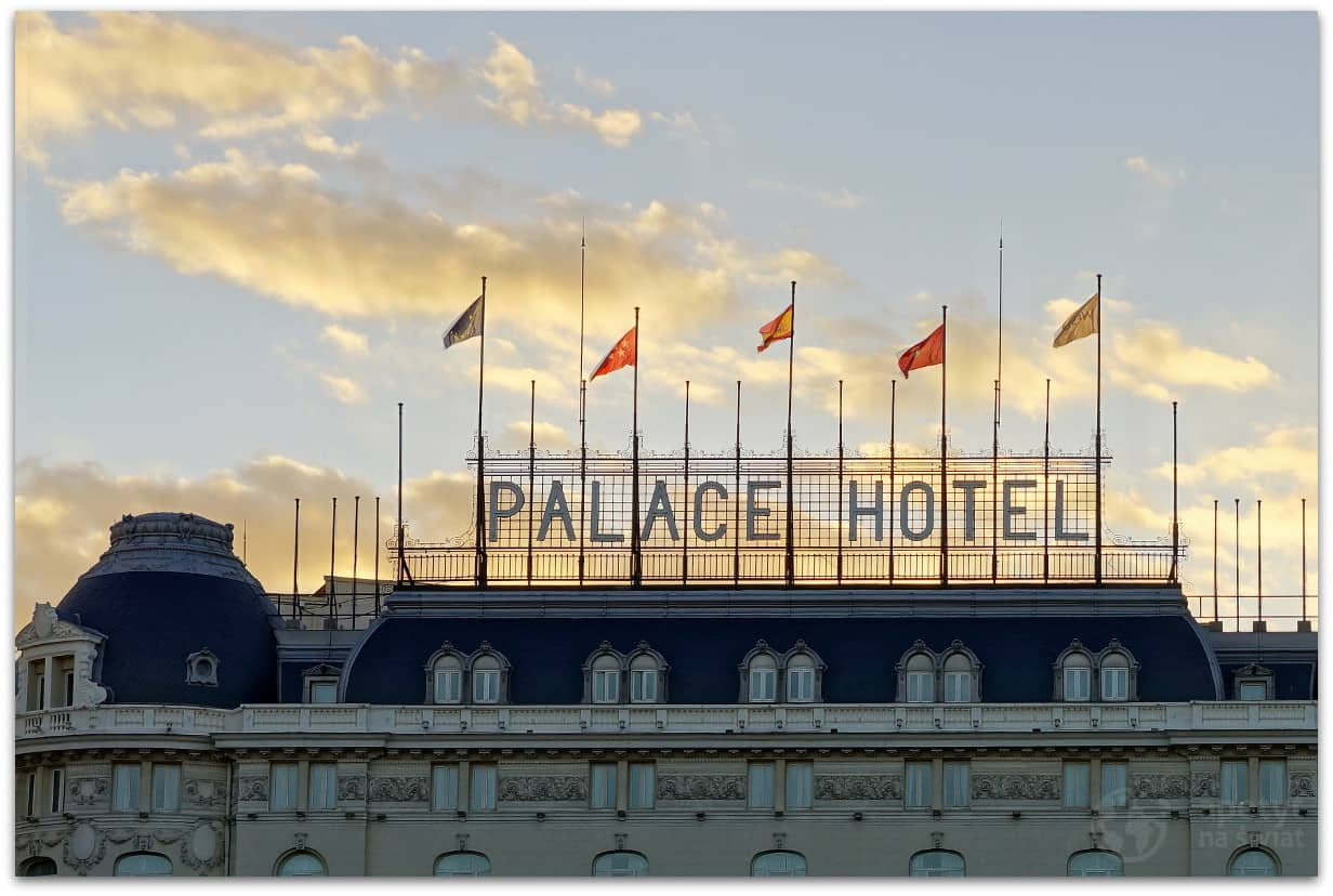 Madryt, Hotel Palace