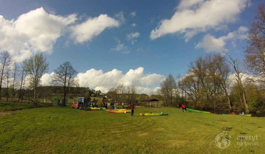 Otwarcie sezonu kajakowego – Radunia 2015