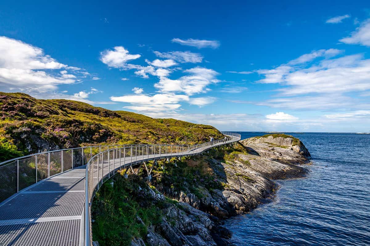Ścieżka widokowa, Droga Atlantycka