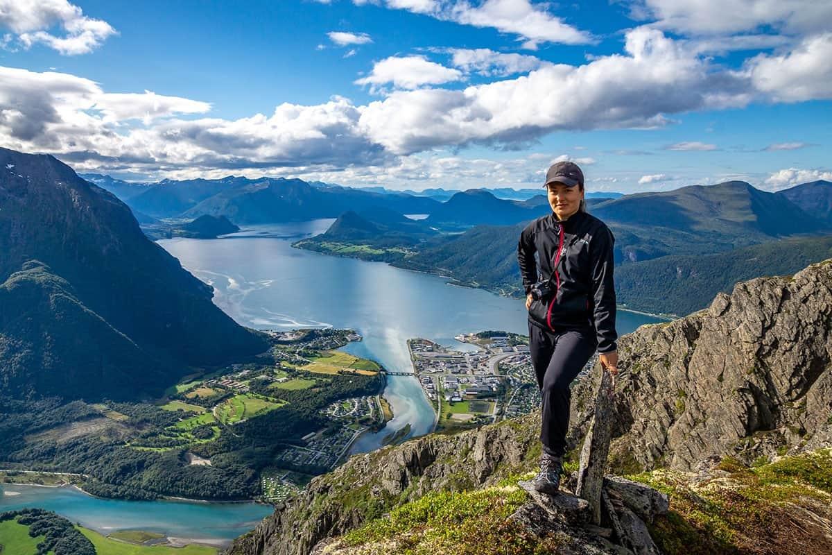 Romsdalseggen - widok ze szlaku