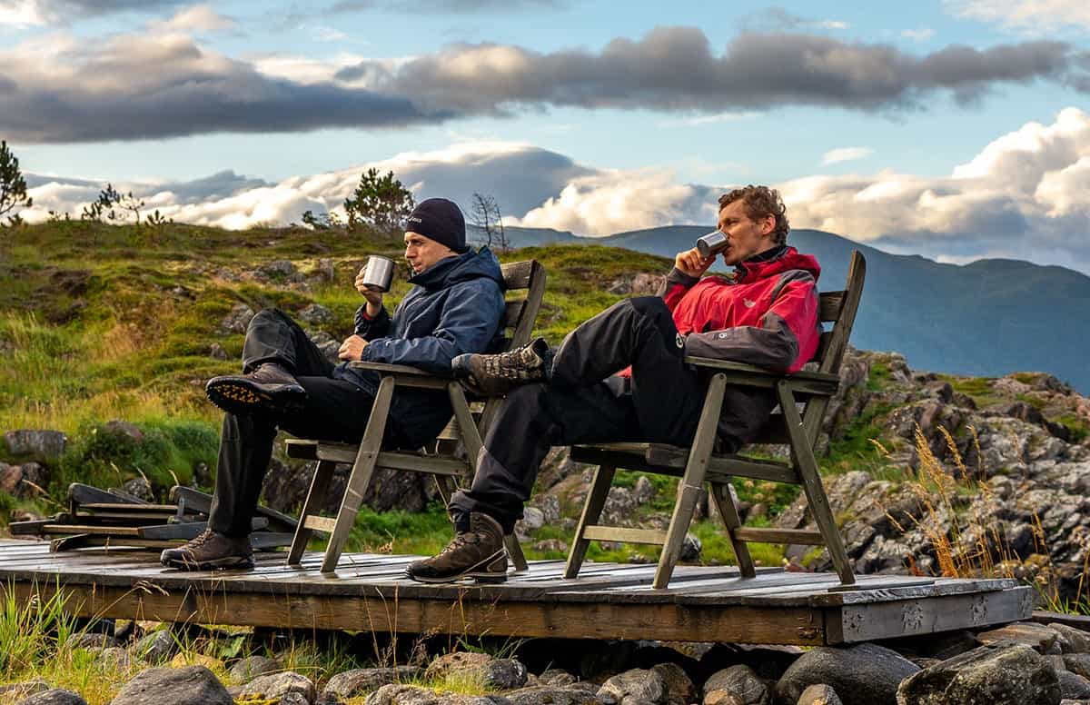 Poranna kawa w Norwegii