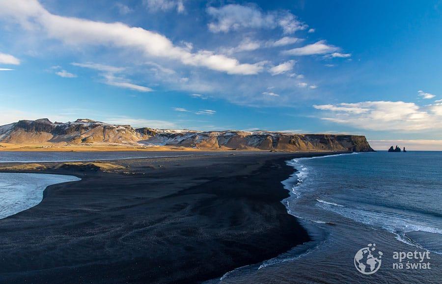 Czarna plaża Vik Reynisfjara