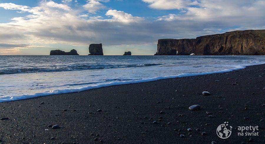 Dyrholaey czarna plaża