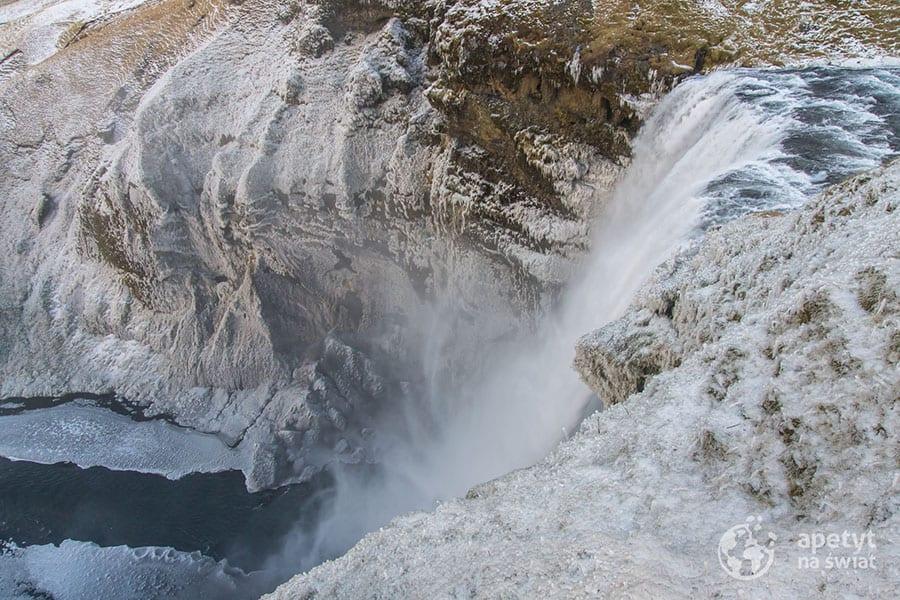 Islandia, wodospad Skogafoss