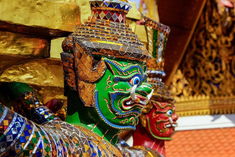Bangkok - Wielki Pałac Królewski