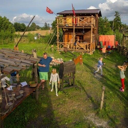 Młodzi Odkrywcy - obóz rycerski