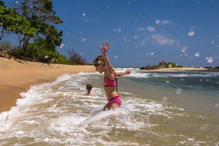 Młodzi Odkrywcy na Sri Lance - plaża w Tangalle