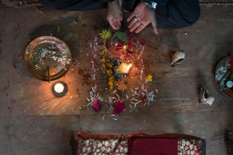 Kathmandu pachnące owocami i kadzidłem