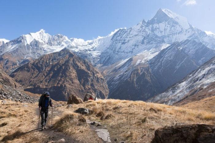 Nepal - trekking Mardi Himal i Annapurna Base Camp