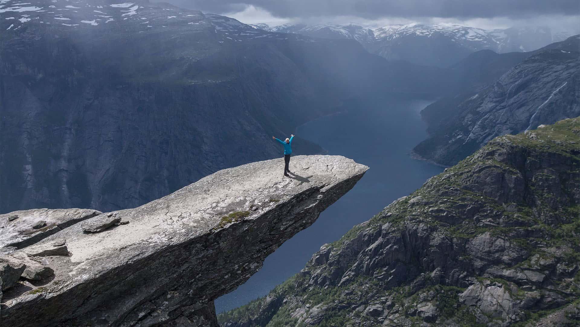 Norwegia - Trolltunga