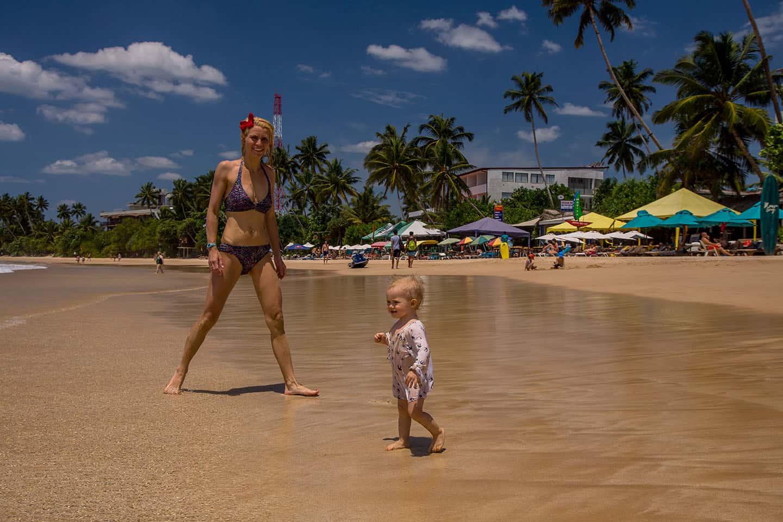 Plaża wMirissa