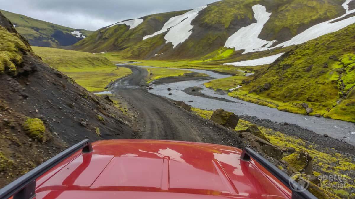 Islandia 4x4 - Interior