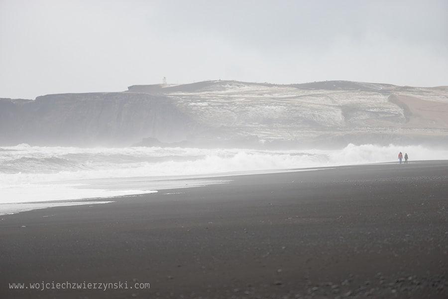 Czarna plaża Vik