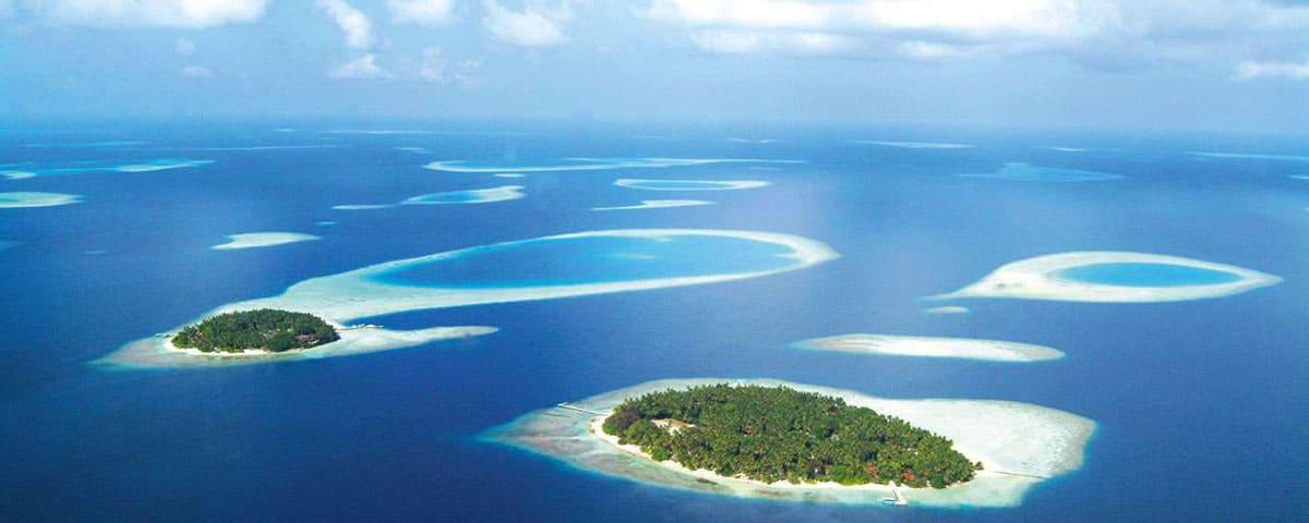 Malediwy - atol