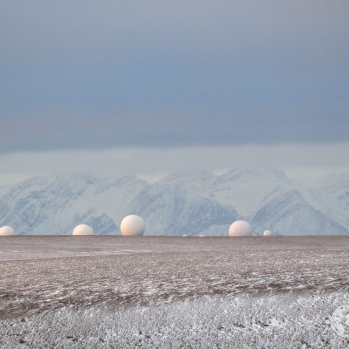 Svalbard pole radarów NASA