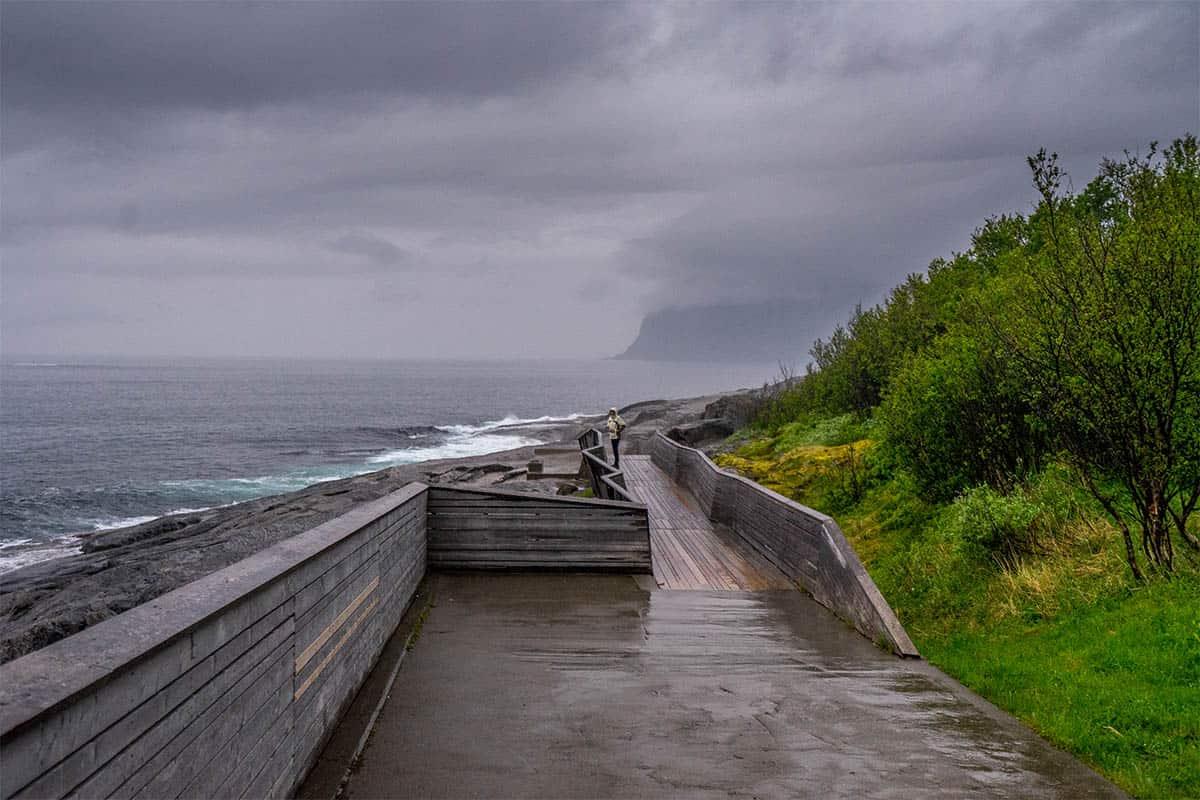 Tungeneset - wyspa Senja
