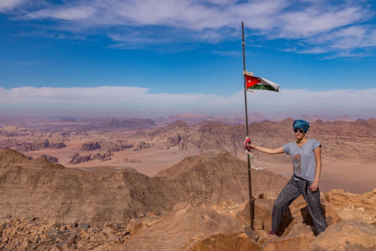 Dżabal Umm ad Dami - najwyższy szczyt Jordanii
