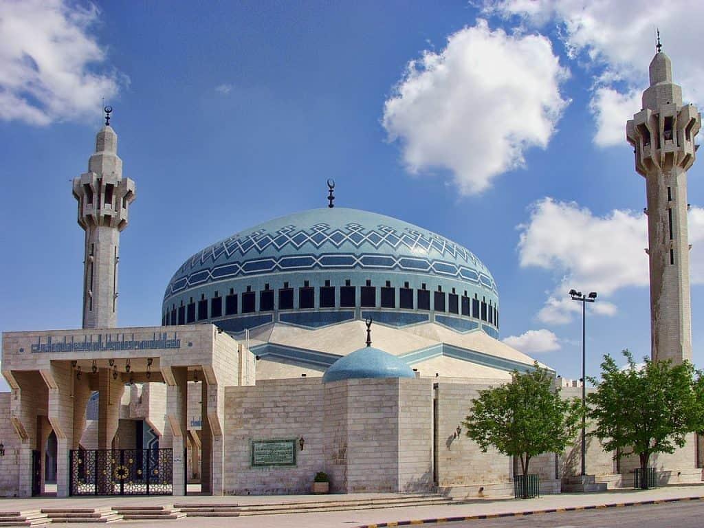 Jordania Amman - niebieski meczet