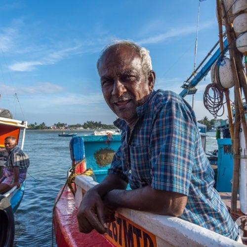 Sri Lanka Negombo rybak