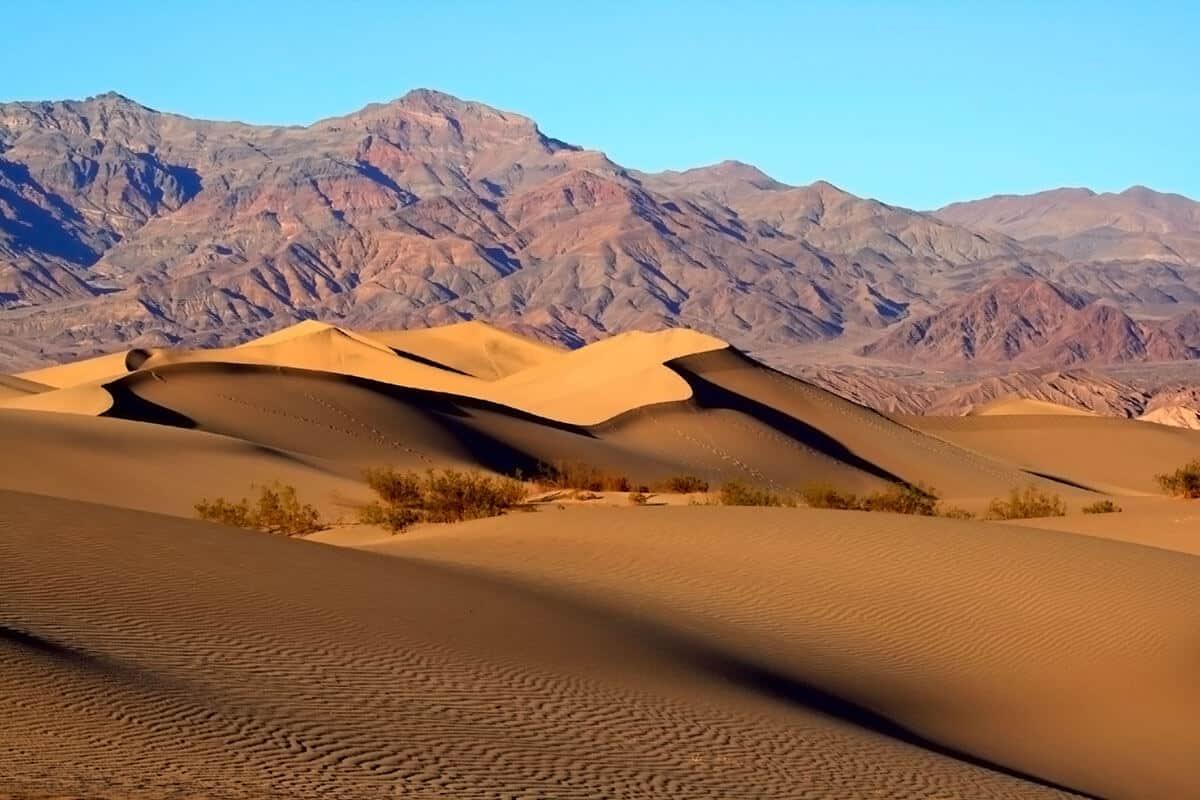 Dolina Śmierci Mesquite Sand Dunes