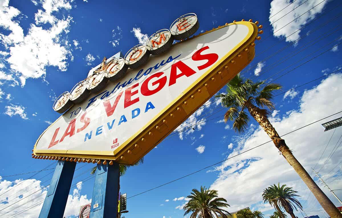 Las Vegas - znak witający gości