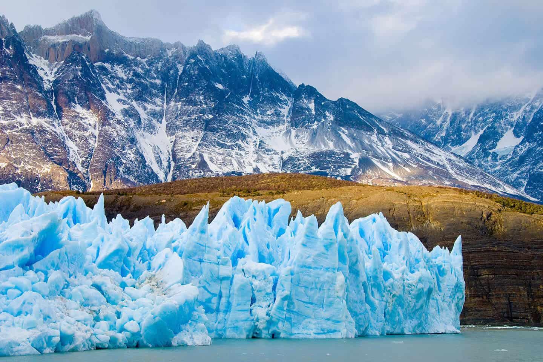 Chile góry i lodowiec