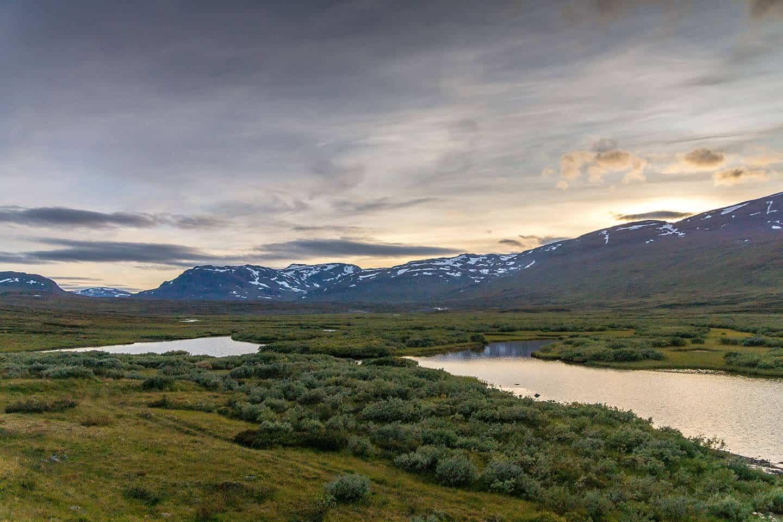 Kungsleden - szwedzka Laponia