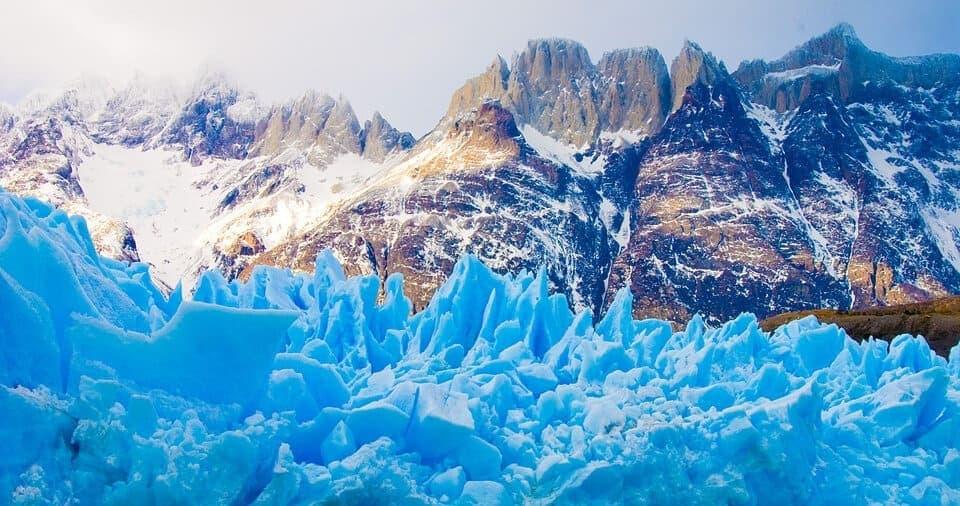 Torres del Paine - lodowiec Grey