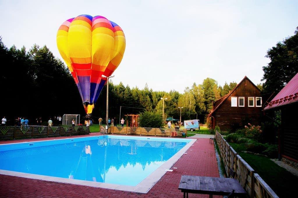 Basen i balon