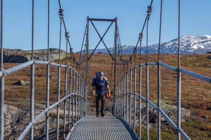 Szwedzka Laponia: Królewski szlak Kungsleden