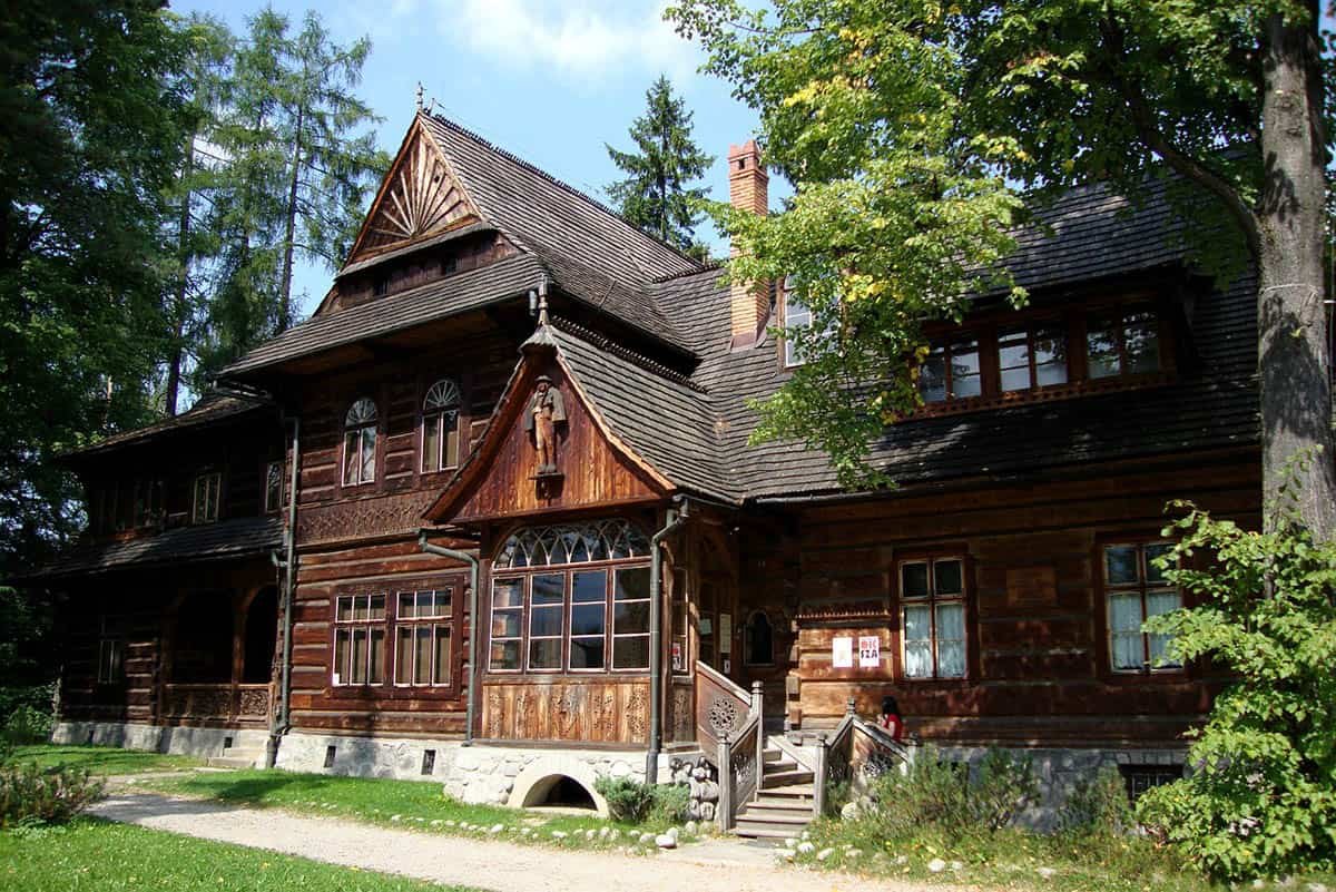 Zakopane - drewniana chata