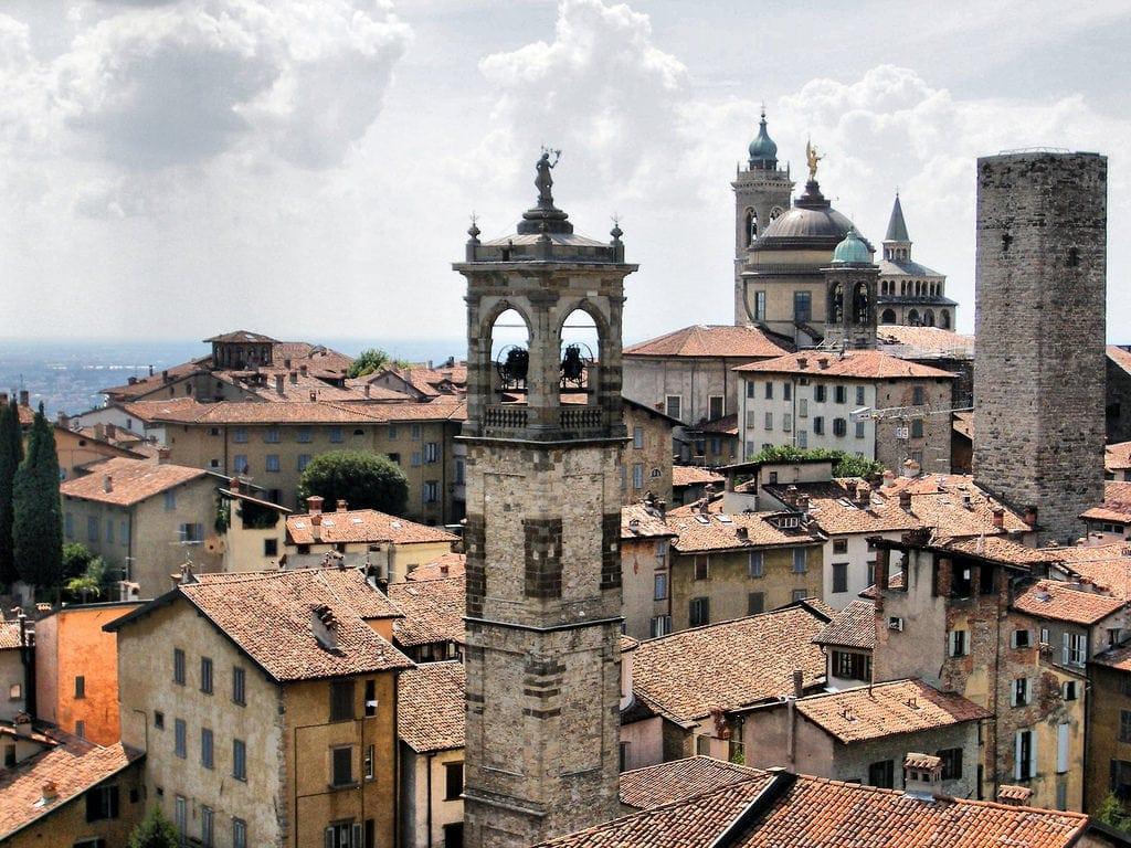 Stare miasto w Bergamo