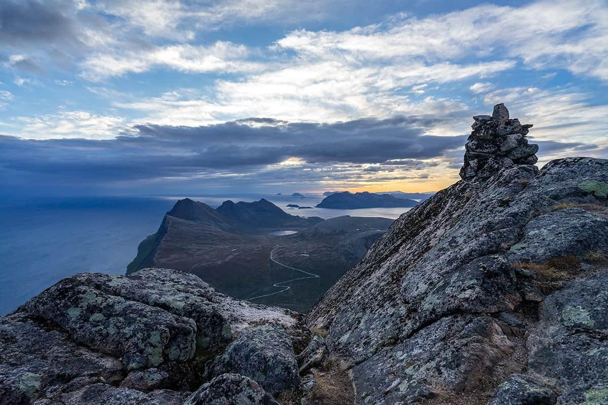 Midnight Sun, Skamtinden, okolice Tromso