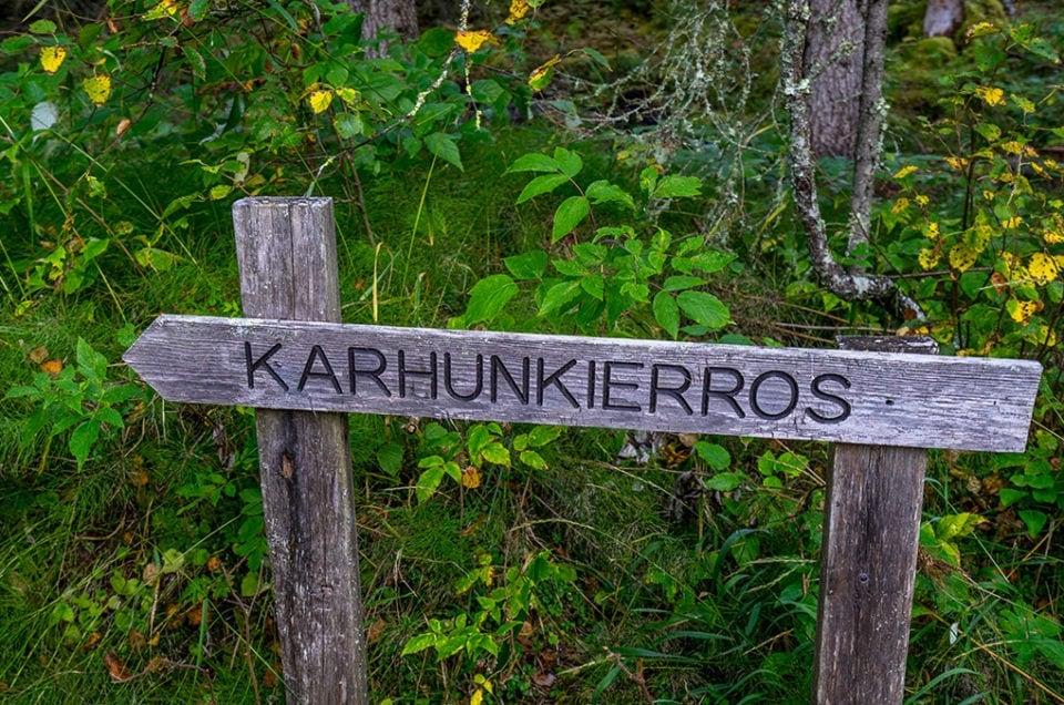 Szlak Karhunkierros w fińskiej Laponii