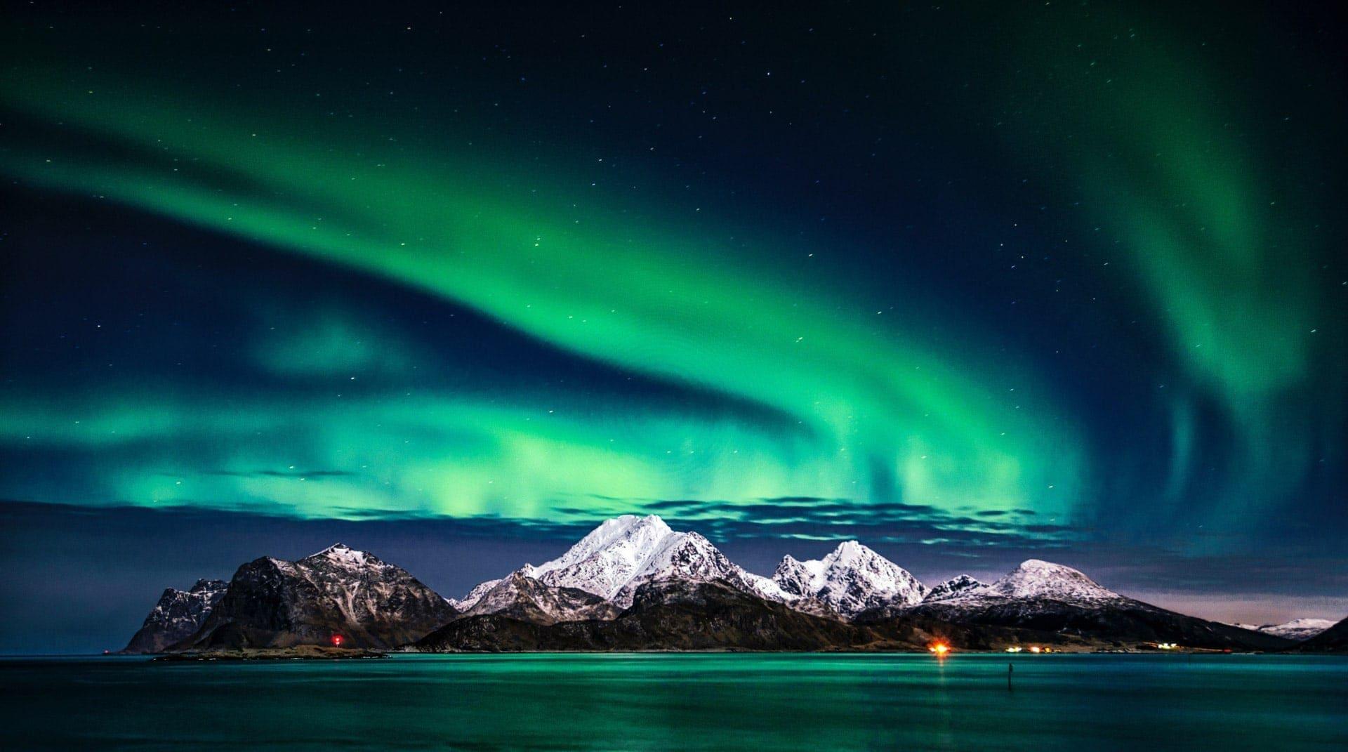 Aurora Borealis, Zorza polarna, Northern Lights