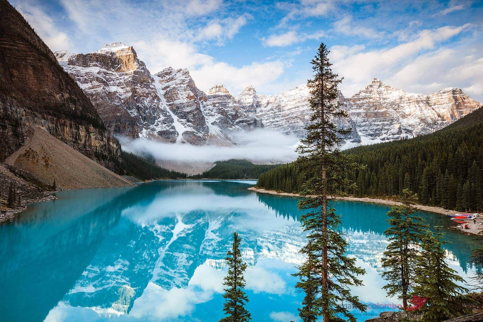 Park Narodowy Banff, Kanada, jezioro Moraine