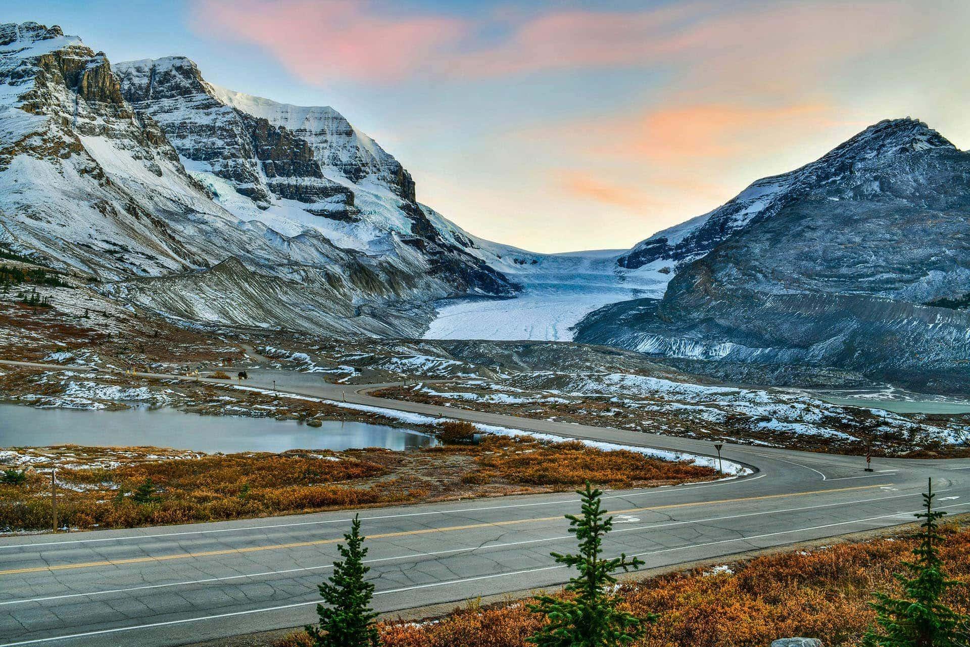 Park Narodowy Jasper, lodowiec Athabasca