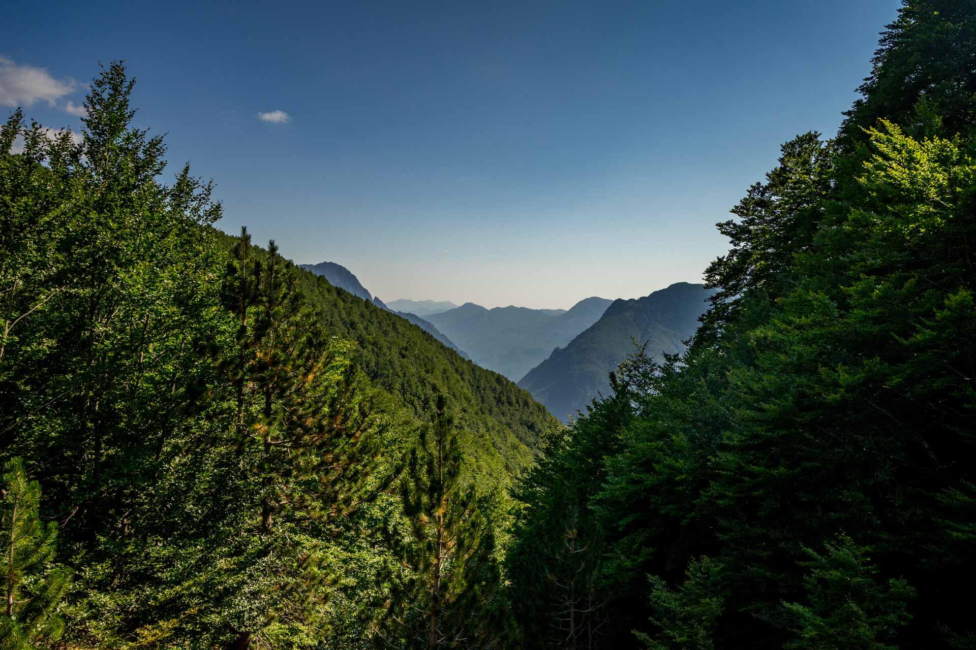 Albania, Góry Przeklęte