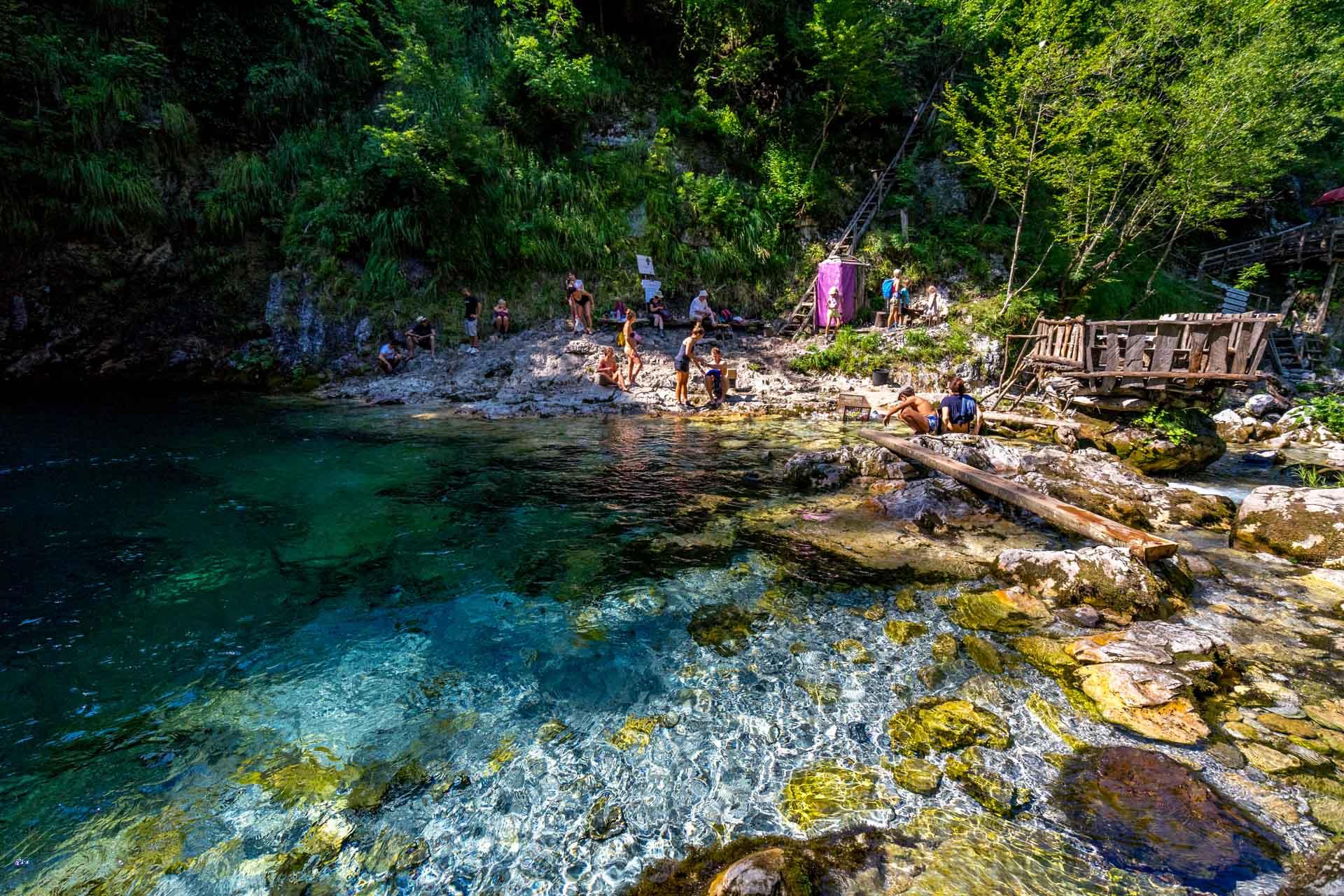 Jezioro Błękitne Oko, Albania, Góry Przeklęte