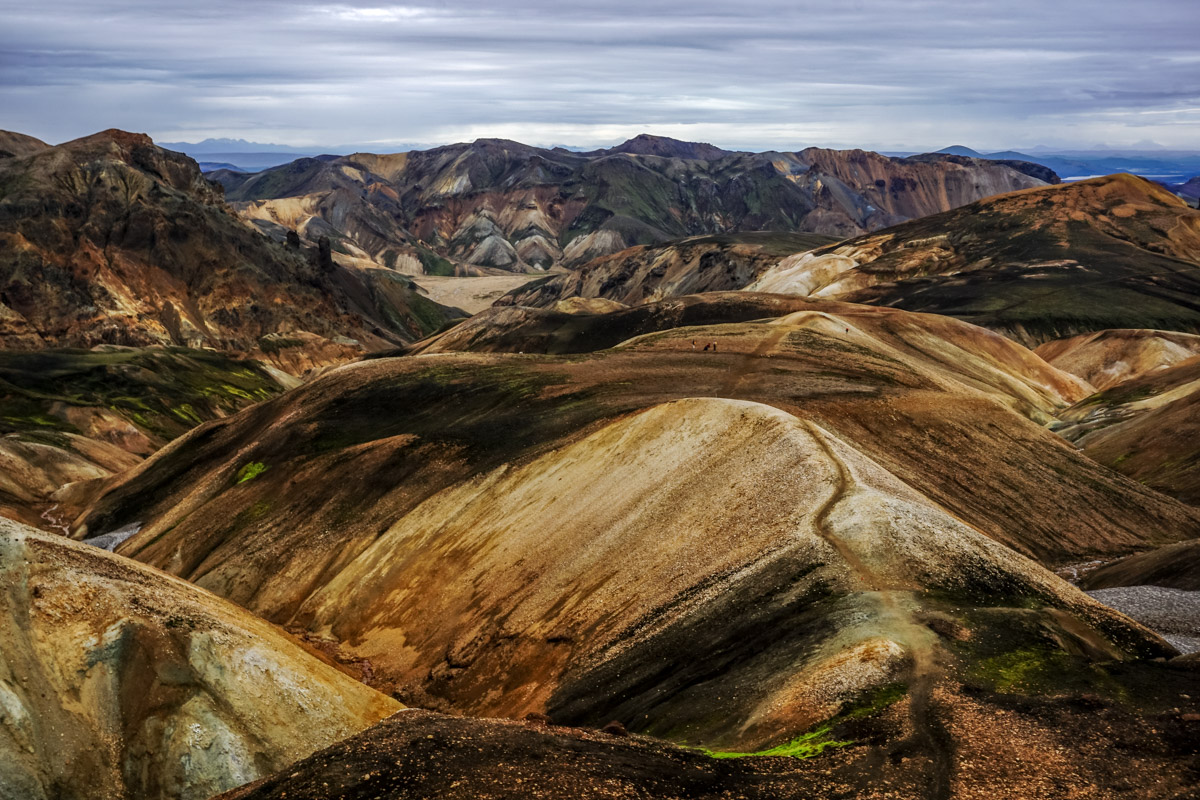 Islandia - góry Landmannalaugar