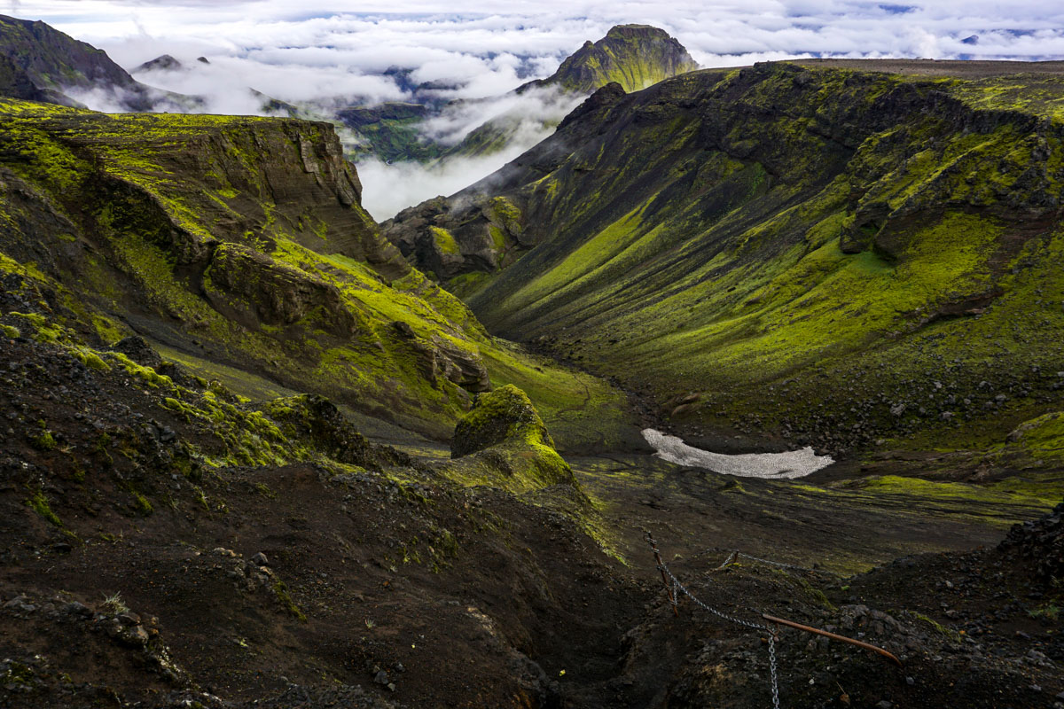 Przełęcz Fimmvörðuháls