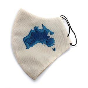 Maseczka ochronna Australia - beżowa