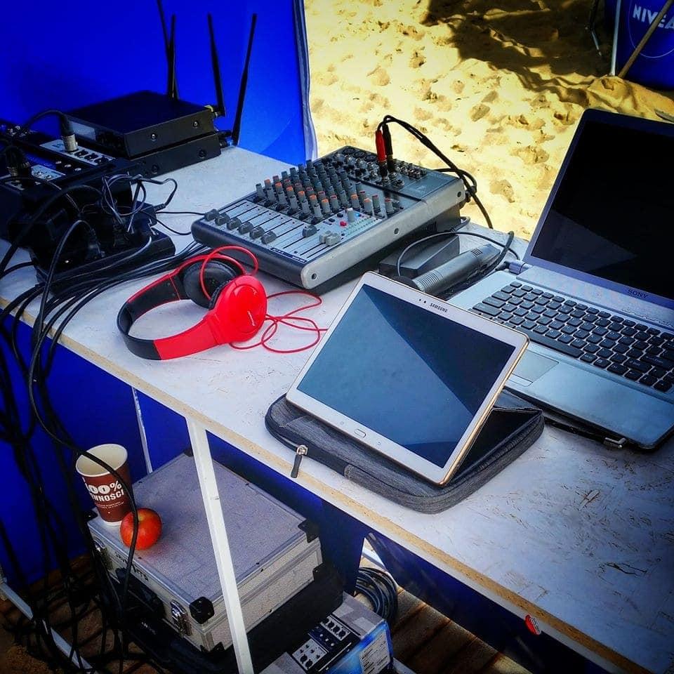 Radio Apetyt, studio naplaży