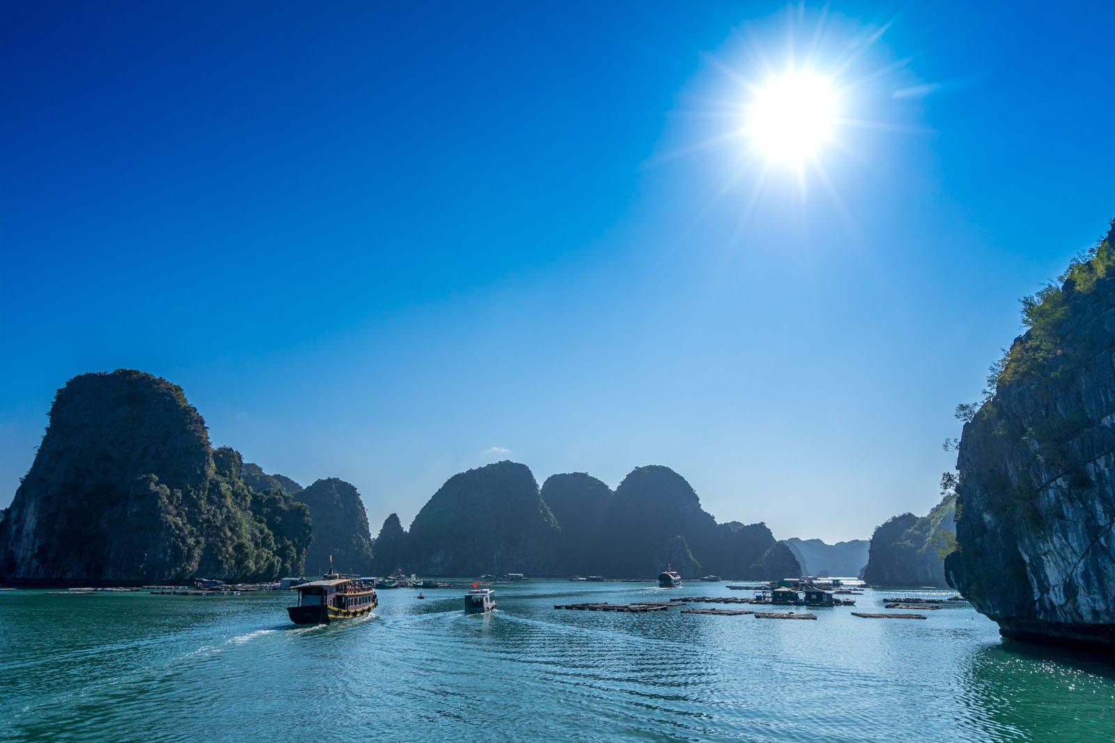 Zatoka Ha Long wWietnamie