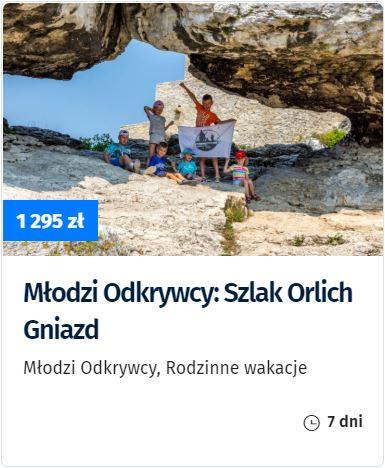 Szlak Orlich Gniazd rodzinnie, wakacje najurze, Jura zdziećmi