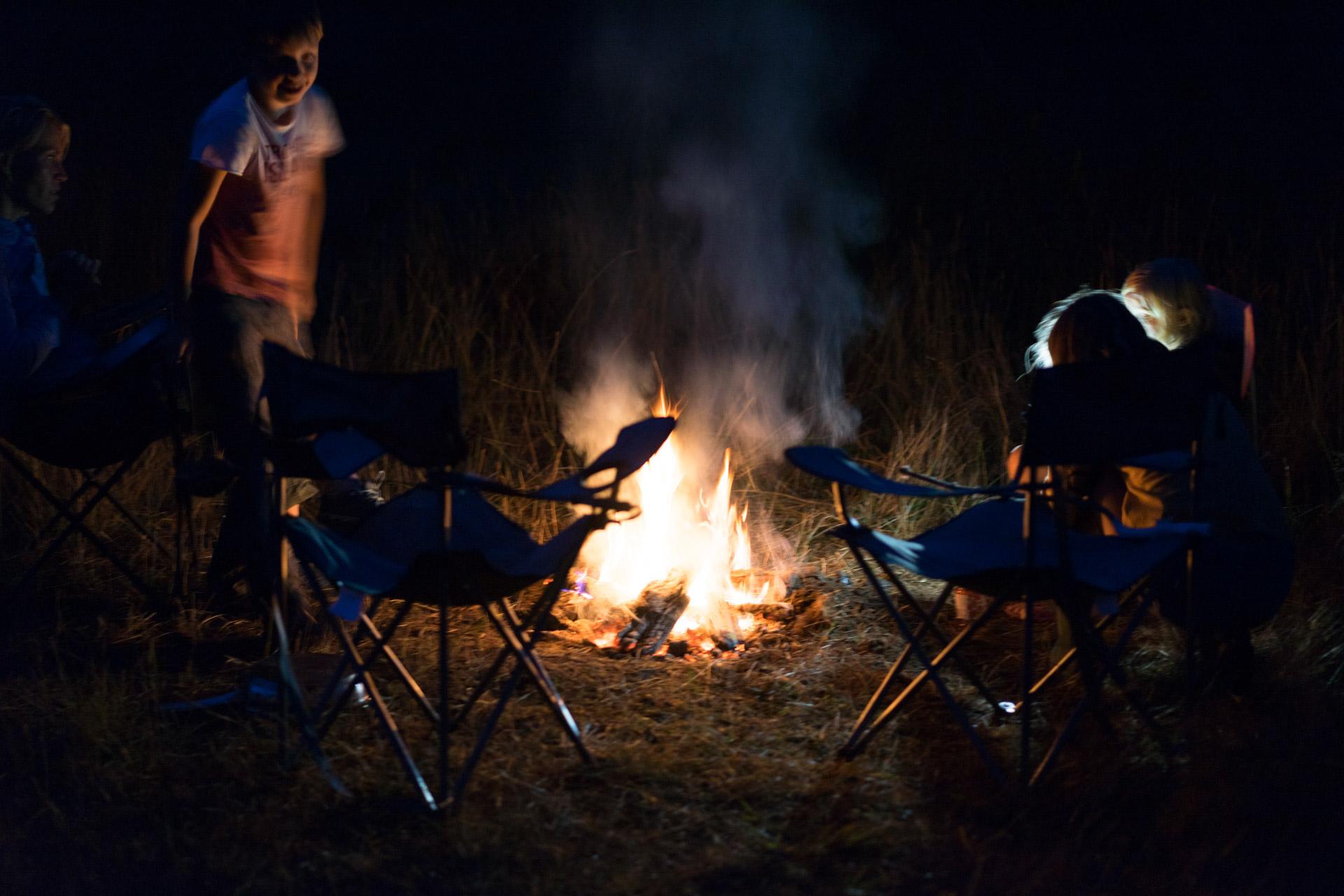 Bushcraft dla dzieci - ognisko