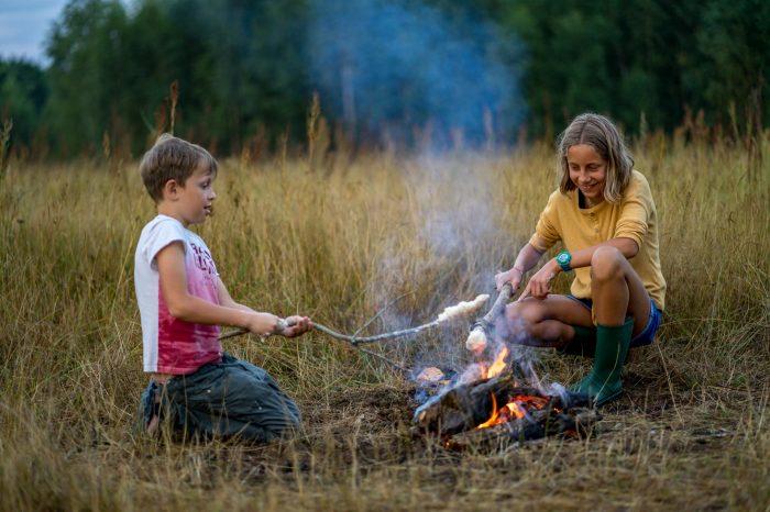Tata imałolat(a) – biwak bushcraftowy